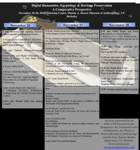 Flyer for Digital Humanities Conference
